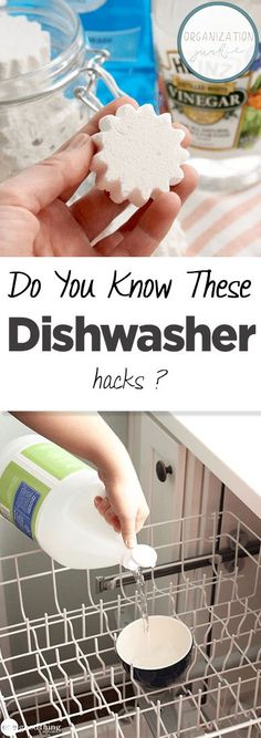 Do You Know These Dishwasher Hacks? Dishwasher Hacks How to Clean Your Dishwasher Easy Ways to Clean Your Dishwasher How to Clean and Maintain Your Dishwasher Dishwasher Cleaning Hacks Popular pin Cleaning Your Dishwasher, Diy Home Cleaning, Cleaning Recipes, Green Cleaning, House Cleaning Tips, Car Cleaning, Cleaning Hacks, Kitchen Cleaning, Cleaning Solutions