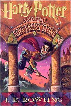 Harry Potter and the Sorcerers Stone - J K Rowling.  Hello, childhood.  :)