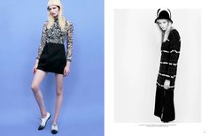 visual optimism; fashion editorials, shows, campaigns & more!: maud welzen by jacob sadrak and carrol cruz for harper's bazaar kazakhstan october 2014