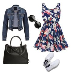 """""""Untitled #5"""" by ermina-delic ❤ liked on Polyvore featuring maurices, Keds and Prada"""