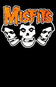 Misfits Tattoo, Punk Tattoo, Tattoos, Misfits Band, Metal Band Logos, Danzig Misfits, Heavy Metal Art, Rapper Art, Music Album Covers