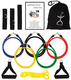 iCorePro Resistance Band Kit Bundle with Power Band and Accessories ** You can find more details by visiting the affiliate link Amazon.com.