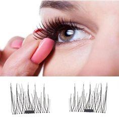 2017 new makeup Eyelashes Classic 3D Magnetic False Eyelashes Extension Tools Natural Makeup