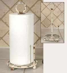 Iron Paper Towel Holder