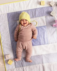 Seersucker Baby Quilt - Martha Stewart Sewing Projects