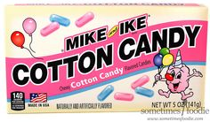 Sometimes Foodie: Mike and Ike Cotton Candy - Dollar Tree