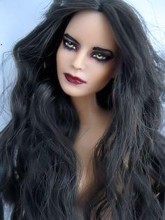 OOAK 1 6 Barbie Repaint Twilight Carmen Inspired Vampire Denali Coven Doll   eBay