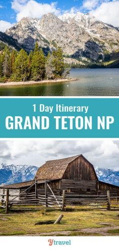 Planning to visit Wyoming? Don't miss the Grand Teton National Park it's amazing. Check out this 1 day itinerary of the best things to do in Grand Teton National Park including best hikes wildlife spotting scenic drives and where to stay. National Park Camping, National Parks Map, National Park Posters, Grand Teton National Park, Yellowstone National Park, Visit Yellowstone, Yellowstone Vacation, Thing 1, Travel Usa