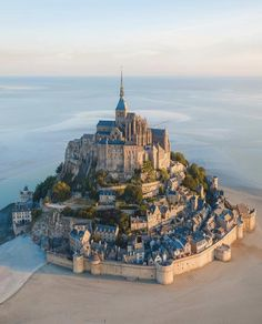 ITAP of a beautiful commune in Normandy France. by pixelpann . Places To Travel, Travel Destinations, Places To Visit, Beautiful Buildings, Beautiful Places, Amazing Places, Bol D Air, Le Mont St Michel, Westerns