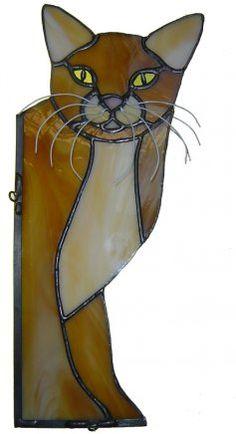 "Ginger ""Peeping"" Cat"