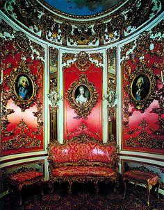 Pink cabinet, Linderhof Palace, Germany