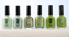 Revlon Streetwear-Witchy, Serene, Time Machine, Grass Stain, Envy and Toad (ver.1)
