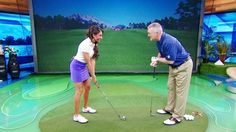 'School of Golf host' Martin Hall will share the three keys to the setup and how they can lower your scores without swinging a club. Hall will also teach the fundamentals that made Greg Norman a Major Champion. Holly Sonders will join Hall to assist with drills and help viewers with their questions.