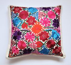CHIAPAS PILLOW COVER by YucuNinu on Etsy