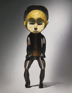 Mbole Male Ancestor Figure, Democratic Republic of the Congo