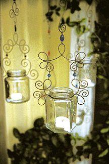jar & wire lanterns