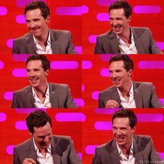 Benedict Cumberbatch being completely adorabuhl on The Graham Norton Show
