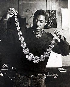 Art Smith(Arthur Smith 1917-1982) was born to Jamaican parents in Cuba in 1917. His family moved in Brooklyn in 1920 and he showed his artistic talent from an early age. His jewelry is beautiful…