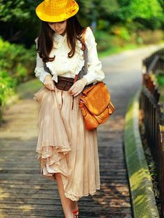 Glamorous Solid Pleated Maxi Skirt With Lace