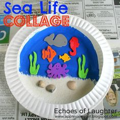 A Sea Life Collage by Echoes of Laughter