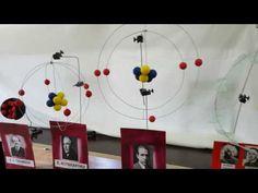 3d Atom Model, Atom Model Project, Science Projects, School Projects, Atomic Structure Model, School Study Tips, Classroom Language, Organic Chemistry, Blogger Themes