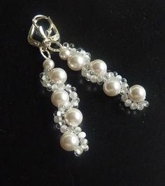 Ohrhänger - handgefertigter Brautschmuck mit Perlen