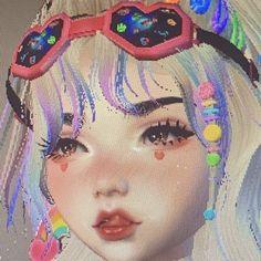 < ネコ % — . . . 🍡... Aesthetic Japan, Aesthetic Anime, Bobbies Shoes, Arte Alien, Virtual Girl, Gothic Anime, 3d Girl, Cybergoth, Cute Icons