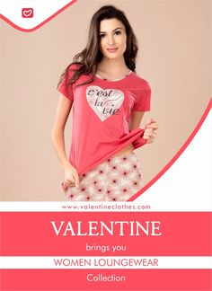 Discover wardrobe essentials with a subtle fashion edge. Valentine brings you wide collection of light-weighted and skin friendly Women Loungewear. It promises utmost comfort and a soft feel keeping you Comfortable all night long. Shop now at https://valentineclothes.com/women/loungewear.html  #women #loungewear #womenloungewear #sinker #relaxwear #comfortable #stylish #fashion #womensfashion #fashionistas #valentine #valentineclothes #madewithlove #happyshopping