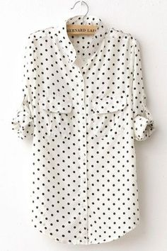 polka dot print | wardrobe staple