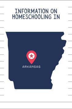 Get started homeschooling in #Arkansas with this information. #homeschool #homeschoolinarkansas