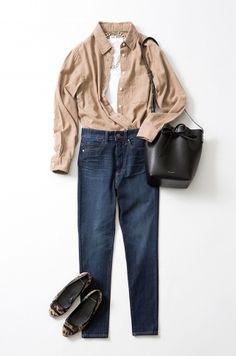 フランネルシャツを 誰よりも新鮮に着る、4つの方法 Today's Pick Up ユニクロ