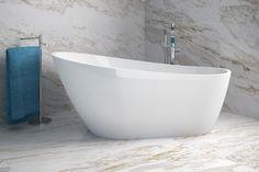 Owalna wanna wolnostojąca Besco Melody dostępna w dwóch rozmiarach 170x80 cm oraz 150x80 cm. @lazienki_inspiracje #besco #showerdesign #wolnostojąca #owalne #frestanding #oval #bathtime #frestandingbath #designbath #architekturawnętrz #inspiracjelazienkowe #modernbathroom #instagood #interiordesign #designer Interior Styling, Interior Design, Bathtub, Bathroom, Architecture, Products, Elegant, Bathtub Ideas, Freestanding Tub