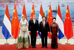 King Willem Alexander & Queen Maxima Dutch State Visit to China.