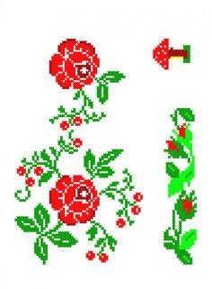 VB084 Cross Stitch Patterns, Toyota, Embroidery, Cross Stitch Borders, Stitches, Kitchens, Roses, Punto De Cruz, Needlepoint