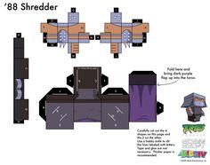 1988 Shredder TMNT Cubee 2 of2 by etchings13.deviantart.com on @deviantART