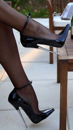 e99f4965868f  Get Naughty in Nylon from Pearl-Poseidon.com  StilettoHeels Black High  Heels