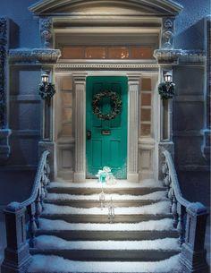 Tiffany e le vetrine di Natale - window display