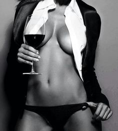 Sometimes its lovely to be distracting! #sexy #lady with #wine