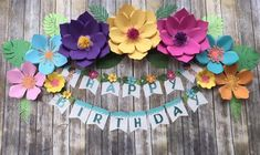 This listing is for FLOWERS ONLY! the backdrop or banner is not provided. Turn around time is we Moana Theme, Moana Party, Baby Birthday Decorations, Diy Wedding Decorations, Paper Flower Backdrop, Paper Flowers Diy, Moana Backdrop, Butterfly Birthday Party, Fleurs Diy