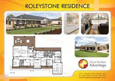 Home Builders Advantage- Perth's Biggest Building Broker- Single Storey Home Designs- www.homebuildersadvantage.com.au