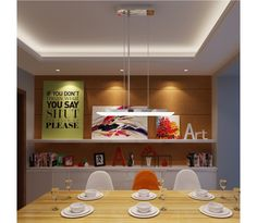 9x2W LED Loft Rektangulær