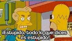 Memes plantillas tengo miedo 24 ideas for 2019 Simpsons Frases, Simpsons Meme, The Simpsons, Funny Spanish Memes, Spanish Humor, Funny Memes, Jokes, Memes Humor, Reaction Pictures