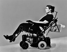 """Christopher Reeve: """"Some people are walking around with full use of their bodies and they're more paralyzed than I am."""" In my opinion a true Superman! Cherokee Billie"""