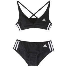 Adidas Authentic 2-Piece Bikini, Black