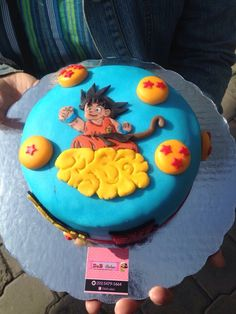Dragón ball cake