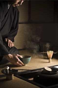 is there a way to include ritual & stillness / moments of reflection to frame the inner conflicts of the play? how does the tea ceremony allow space for these notions?