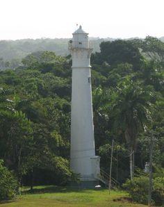 Atlantic Entrance Range Rear lighthouse [1914 - Gatún, Panama]