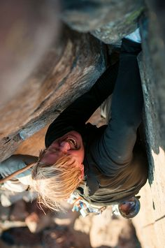 www.boulderingonline.pl Rock climbing and bouldering pictures and news Yelling Power! - via