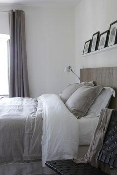 Dekbedovertrek Marcel Wolterninck toronto linnen/katoenen-percal taupe met witte lockrand | Exclusieve dekbedovertrekken | www.vanhoutslinne...