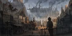 steampunk town - Pesquisa Google